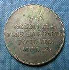 Photo numismatique  Monnaies Monnaies Françaises Napoleonides 30 Soldi REPUBLIQUE CISALPINE, AN IX (1800.1801) 30 Soldi, VG.841 TTB
