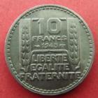 Photo numismatique  Monnaies Monnaies Françaises Gouvernement Provisoire 10 Francs Turin