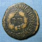 Photo numismatique  Monnaies Colonies Romaines 1er Siècle TIBERE Moyen bronze, mittel bronze, ae Espagne BILBILIS, TIBERE Moyen bronze, Cohen 95 TB R!
