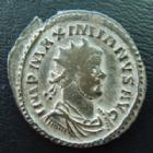 Photo numismatique  Monnaies Empire Romain MAXIMIEN HERCULE, MAXIMIANUS, MAXIMIAN, MAXIMIANO, HERCULUS Antoninien, antoninianus, antoniniane MAXIMIEN Hercule, MAXIMIANUS Herculius, 286-305, antoninien, Pax Avgg, 2,98 grms, C.438 TB à TTB