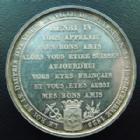Photo numismatique  Monnaies Monnaies/medailles d'Alsace Mulhouse Médaille en argent, Mulhouse MULHOUSE, CAHRLES X, médaille en argent de 41 mm, visite du Roi et du Dauphin le 11.09.1828, Barre FT, 33,29 grms, pts coups sur tranche, SUPERBE