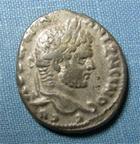 Photo numismatique  Monnaies Colonies Romaines 3ème Siècle CARACALLA Tétradrachme SYRIE EMISA, CARACALLA Tétradrachme, aigle, Sear 2652 TTB