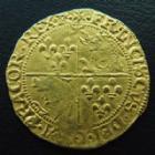Photo numismatique  Monnaies Monnaies royales en or François Ier Ecu dor au soleil du Dauphiné FRANCOIS Ier, Ecu d'or au soleil du Dauphiné 1528-1529, 7e type Romans, 3,34 grms, DY.788 TTB