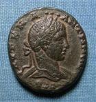 Photo numismatique  Monnaies Colonies Romaines 3ème siècle ELAGABAL Tétradrachme SYRIE, ELAGABAL, Tétradrachme, aigle TTB