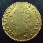 Photo numismatique  Monnaies Monnaies royales en or Louis XVI Louis d'or au buste nu LOUIS XVI, Louis d'or au buste nu 1786 B Rouen, 7,59 grms, L4L.539 TTB/ TTB+
