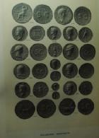 Photo numismatique  Librairie Livres d'occasion Monnaie Romaine catalogue de vente, auction, auktion Collection Martinetti et Nervegna, Aes Grave 18 Novembre 1907, 254 pages, XLIII Planches, bon état
