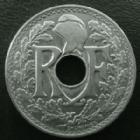 Photo numismatique  Monnaies Monnaies Françaises Troisième République 25 centimes Lindauer 25 centimes Lindauer 1915 cmes souligné, G.379 SUPERBE