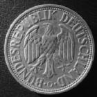Photo numismatique  Monnaies Allemagne après 1871 Allemagne, Deutschland, Germany 2 mark, Zwei mark 2 Mark 1951 G, J.386 petite taâche sinon TTB+