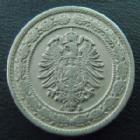 Photo numismatique  Monnaies Monnaies étrangères Allemagne, Deutschland, Empire, Kaisereich 20 Pfennig 20 pfennig 1888 A, J.6 TTB+