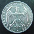 Photo numismatique  Monnaies Monnaies étrangères Allemagne, Deutschland, Weimar republik, republique de Weimar 3 mark, 3 Reichmark Weimar Republik, République de Weimar, 3 mark aluminium 1922 G,