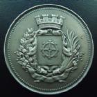Photo numismatique  Monnaies Monnaies/medailles d'Alsace Mulhouse Médaille en bronze argenté, Mulhouse MULHOUSE, Alsace, Elsass, foire exposition de Mulhouse du 16 au 30 Mai 1937, médaille en bronze argenté de 50 mm, gravé par Dubois,  SUPERBE à FDC