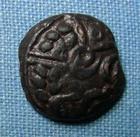 Photo numismatique  Monnaies Monnaies Gauloises Carnutes Bronze CARNUTES, Bronze TAEOC, Latour 6317 TTB Rare!R!
