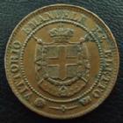 Photo numismatique  Monnaies Monnaies étrangères Italie, Toscane, Toscana 2 Centesimi Toscane, Toscana, Italie, Italia, 2 centesimi 1859, Mont.124 TTB à SUPERBE