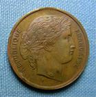 Photo numismatique  Monnaies Médailles 19ème siècle Médaillette A.THIERS, président de la république, médaillette 23 mm, TTB