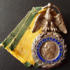 Photo numismatique  Monnaies Ordre, Decoration, Medaille France, Second empire Médaille Militaire Médaille Militaire, second Empire 2e type, création le 22 Janvier 1852, Aigle avec les ailes détachées, 26x46 mm, TTB à SUPERBE