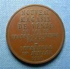 Photo numismatique  Monnaies Médailles 20ème siècle Médaille Nouveau magasin de vente, ouverture le 1 Juillet 1950, médaille 26 mm, TTB+