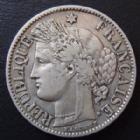 Photo numismatique  Monnaies Monnaies Françaises Troisième République 2 Francs 2 francs Cérès 1895 A Paris, G.530a TTB