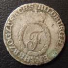 Photo numismatique  Monnaies Allemagne avant 1871 Allemagne, Deutschland, Sachsen Hildburg 3 Kreuzers SACHSEN HILDBURG, Friedrich 1786-1826, 3 kreuzer 1811, AKS.153 B à TB