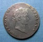 Photo numismatique  Monnaies Monnaies Françaises Napoleonides 2/3 de Thaler WESTPHALIE, JEROME NAPOLEON (Hieronymus) 1813 C, 2/3 de thaler, VG.1970 TTB+