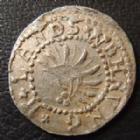 Photo numismatique  Monnaies Allemagne avant 1871 Allemagne, Deutschland, Baden-Durlach 2 Pfennig BADEN-DURLACH, 2 pfennig (1677-1709) Landswehrung, Friedrich VII, Wieland 618, 0,54 grm TTB+