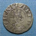 Photo numismatique  Monnaies Monnaies F�odales Auvergne Denier, denar, denario, denarius AUVERGNE, CLERMONT, Ev�ch�, 1100.1150, denier Poey d'Avant 2253 TTB