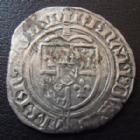 Photo numismatique  Monnaies Monnaies/médailles de Lorraine René Ier Gros RENE I, 1431-1453, gros de St Mihiel (fleur de Lis), Duché de Bar, 1,77 grms, Flon 9 TB à TTB