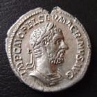 Photo numismatique  Monnaies Empire Romain MACRIN, MACRINUS, MACRINO Denier, denar, denario, denarius MACRIN, MACRINUS, denier, denarius, Rome en 217-218, Annona Avg, 3,21 grms, RIC 55 SUPERBE