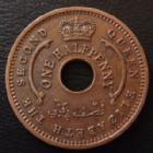 Photo numismatique  Monnaies Monnaies étrangères Nigeria, British Nigeria federation Half penny, one half penny Nigeria Fédération Anglaise, Federation of Nigeria, one half penny 1959, KM.1 TTB à SUPERBE