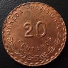 Photo numismatique  Monnaies Monnaies étrangères Mexique, Mexico, Mexican 20 Centavos Mexico, OAXACA, révolution, 20 centavos 1915 TM, 28 mm, KM.732 SUPERBE