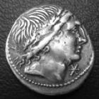 Photo numismatique  Monnaies République Romaine Memmia 109.108 av Jc Denier, denar, denario, denarius MEMMIA, denier Rome en 109-108 avant JC, tête à droite, Dioscures Castor et Pollux, 19 mm, 3,94 grms, RSC.1 TTB