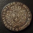 Photo numismatique  Monnaies Monnaies Royales Louis XV 1/10 eme d'Ecu au bandeau LOUIS XV, 1/10e d'Ecu au bandeau 1740 O Riom, 2,86 grms, L4L.497 TB à TTB
