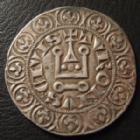 Photo numismatique  Monnaies Monnaies Royales Philippe IV Gros tournois � l'O rond PHILIPPE IV Le Bel, gros tournois � l'O rond, 1285-1314, 3,96 grms, DY.214 TTB