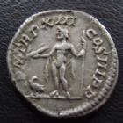Photo numismatique  Monnaies Empire Romain SEPTIME SEVERE, SEPTIMUS SEVERUS, SEPTIMO SEVERO Denier, denar, denario, denarius SEPTIME SEVERE, SEPTIMIUS SEVERUS, denier Rome en 205, jupiter assis à droite, à ses pieds un aigle, 18 mm, 3,04 g, RIC 196 TTB+