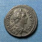 Photo numismatique  Monnaies Empire Romain CARACALLA Denier, denar, denario, denarius CARACALLA, denier frappé à Rome en 206, RIC 150 TTB à SUPERBE
