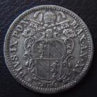 Photo numismatique  Monnaies Monnaies étrangères Vatican, papal states 10 Baiocchi VATICAN, Pie IX, Pius IX, 10 baiocchi 1862 R, argent, 2,84 grms, KM.1352b TTB+