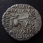 Photo numismatique  Monnaies Monnaies grecques Parthes Drachme Parthes, Parthian, Vologases III, drachme 105-147, 3,65 grms, Sellwood 78.5 SUPERBE