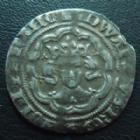 Photo numismatique  Monnaies Monnaies étrangères Grande Bretagne, Great Britain, Angleterre Half Groat, 1/2 Groat Angleterre, Grande Bretagne, Great Britain, Edwards III 1327-1377, Half groat 1351-1352, Londres, 21/22 mm, 2,14 grms, Deaby 1573 v, TB à TTB