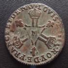 Photo numismatique  Monnaies Monnaies Royales Louis XIV Six deniers dit Dardennes, 6 deniers LOUIS XIV, six deniers dit