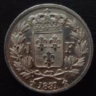 Photo numismatique  Monnaies Monnaies Françaises Henri V 1 Franc HENRI V, 1 franc 1831, 4,98 grms, G.451 infimes traces sinon SUPERBE+
