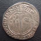 Photo numismatique  Monnaies Monnaies/médailles de Lorraine René Ier 1/2 Gros, demi gros RENE Ier, 1/2 Gros, St Mihiel, Duché de Bar, 1431-1453,1,18 grms, Flon 2 TB+
