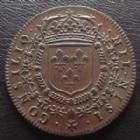 Photo numismatique  Monnaies Jetons Louis XIV, conseil du Roi Jeton rond LOUIS XIV, jeton rond 27 mm, conseil du Roi 1661, 5,63 grms, TTB à SUPERBE