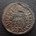 Photo numismatique  Monnaies Monnaies étrangères Espagne, Spain 1 Maravedi, 1 Maravedis Espagne, Spain, Ferdinand VI Maravedi 1747 Segovia, 1,31 grms, KM.368 TB+