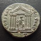 Photo numismatique  Monnaies Empire Romain MAXENCE, MAXENTIUS, MAXENTIO Follis, folles,  MAXENCE, MAXENTIUS, follis Ticinium en 307-308, CONSERV VRB SVAE - TT, 22/24 mm, 4,41 grms, RIC 294 TB/TTB