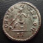 Photo numismatique  Monnaies Empire Romain MAXIMIEN HERCULE, MAXIMIANUS, MAXIMIAN, MAXIMIANO, HERCULUS Antoninien, antoninianus, antoniniane MAXIMIEN Hercule, MAXIMIANUS Herculius, antoninien Lyon en 292-293, PROVIDENT DEOR II, 23 mm, 3,29 grms, RIC 413 Var. TTB+