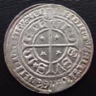 Photo numismatique  Monnaies Monnaies/médailles de Lorraine Metz Gros au St Etienne agenouillé METZ, Cité, 1406-1415, gros au St Etienne agenouillé, 2,89 grms, Flon N°2 p.519, petits écrasement sinon SUPERBE