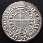Photo numismatique  Monnaies Monnaies/medailles d'Alsace Strasbourg Gros au Lis STRASBOURG, STRASSBURG, gros au Lis 15e siècle, 3,50 grms, EL.384 SUPERBE+ avec brillant d'origine!!