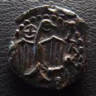 Photo numismatique  Monnaies Monnaies Gauloises Carnutes Bronze à l'aigle et à la rouelle CARNUTES, région de Chartres,  bronze à l'aigle et à la rouelle, vers 52 avant JC, 2,87 grms, DT.2580, TTB+
