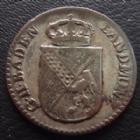 Photo numismatique  Monnaies Allemagne avant 1871 Allemagne, Deutschland, Baden, Bade 6 Kreuzer BADEN, VI kreuzers, 6 kreuzer 1808, Karl Friedrich, J.3 TTB