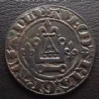 Photo numismatique  Monnaies Jetons Jeton de compte du Moyen Age Jeton de compte au châtel jeton du Moyen Age, jeton de compte au châtel non daté, bronze 24 mm, TTB+ belle qualité pour le type!