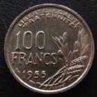 Photo numismatique  Monnaies Monnaies Françaises 4ème république 100 Francs 100 Francs Cochet 1955, G.897 SUPERBE à FDC